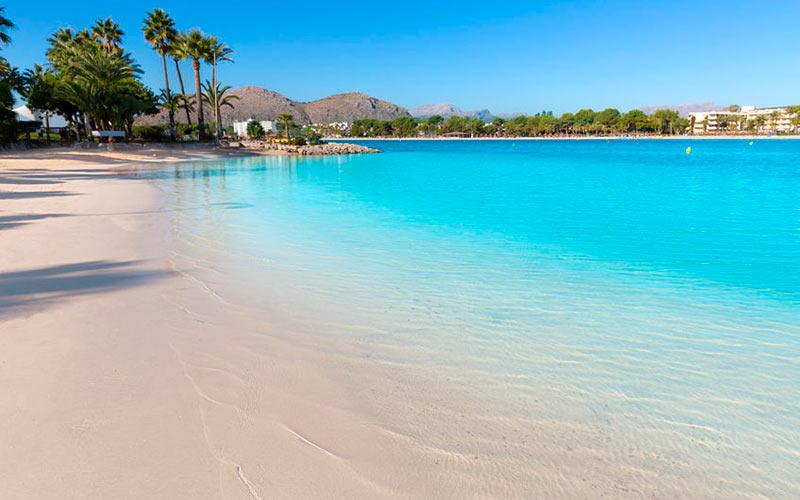 Dejlig strand på Mallorca