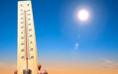 termometer som viser hvor vart der er på Mallorca