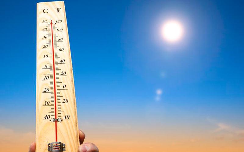 termometer som viser hvor varmt der er på Mallorca