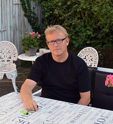 Billede af Peter som blandt andet skriver til Feriesteder.dk