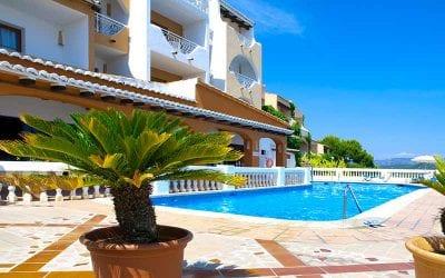 Dejligt hotel med svimmingpool på Mallorca