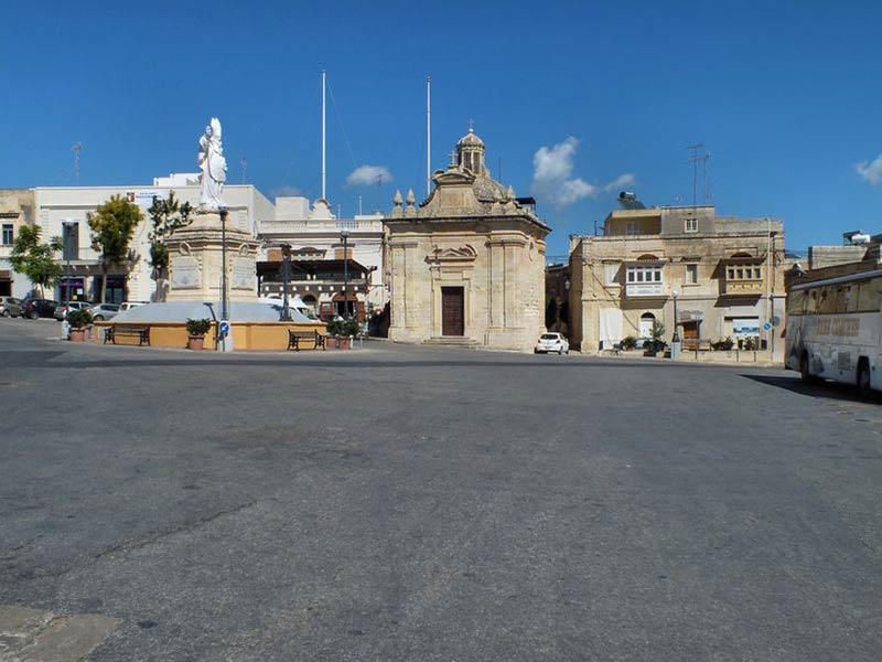 Siggiewi, oprindeligt en landbrugsby på Malta